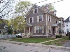 Exterior of a house; Actual Size=240 pixels wide